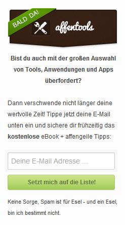 affenblog-email-box