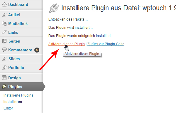 wordpress-plugin-aktivieren