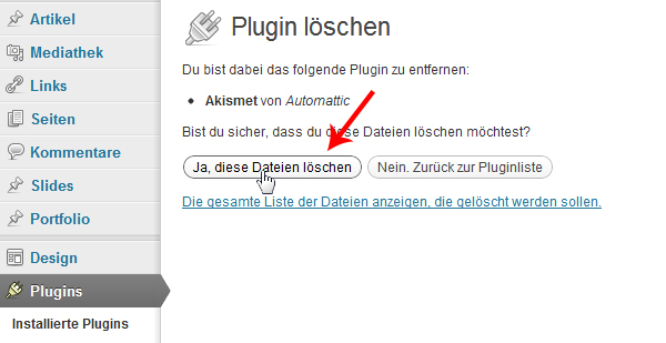 wordpress-plugin-loeschen-bestaetigung