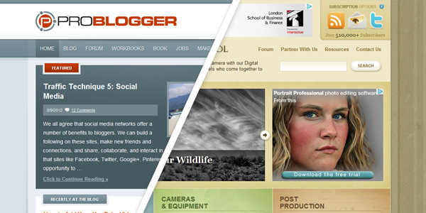 problogger digital photography school