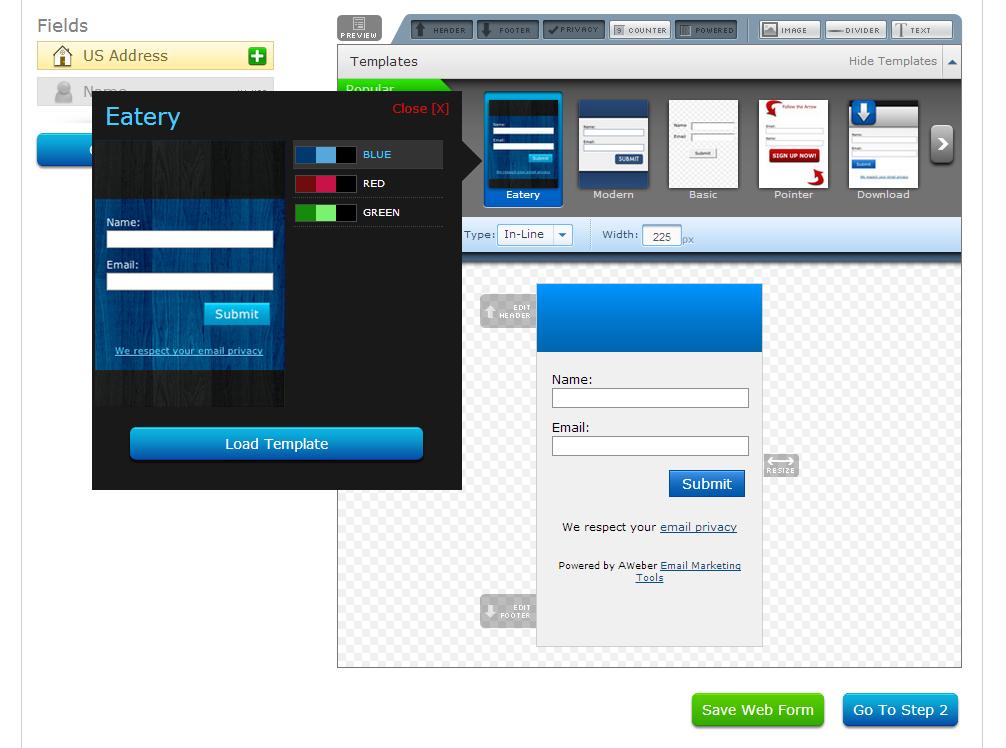 aweber-formular-design