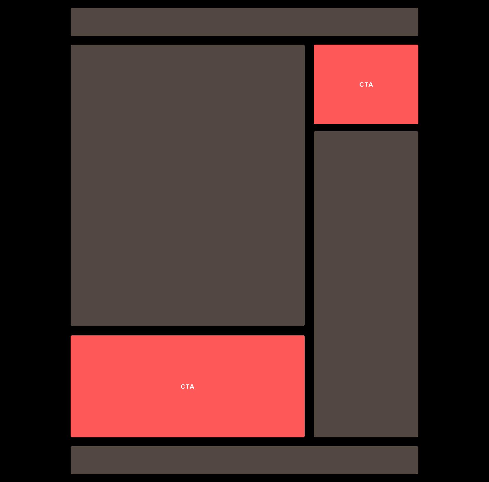 layout cta