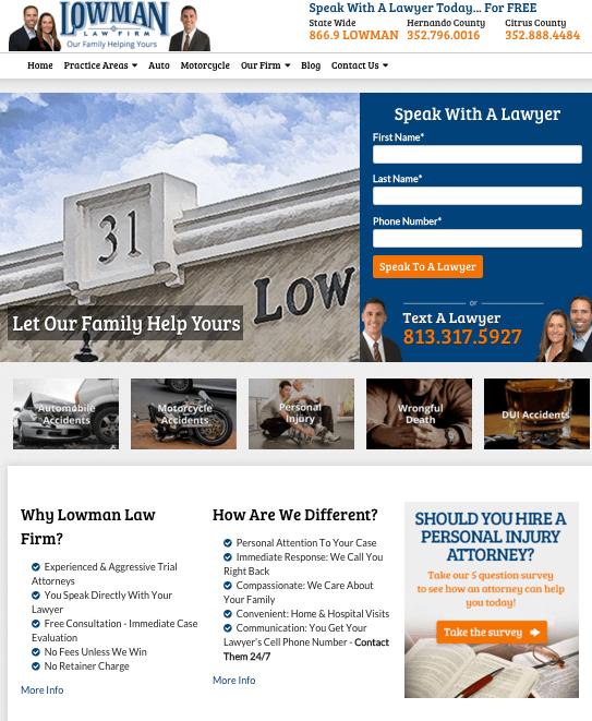 lowman law neue webseite