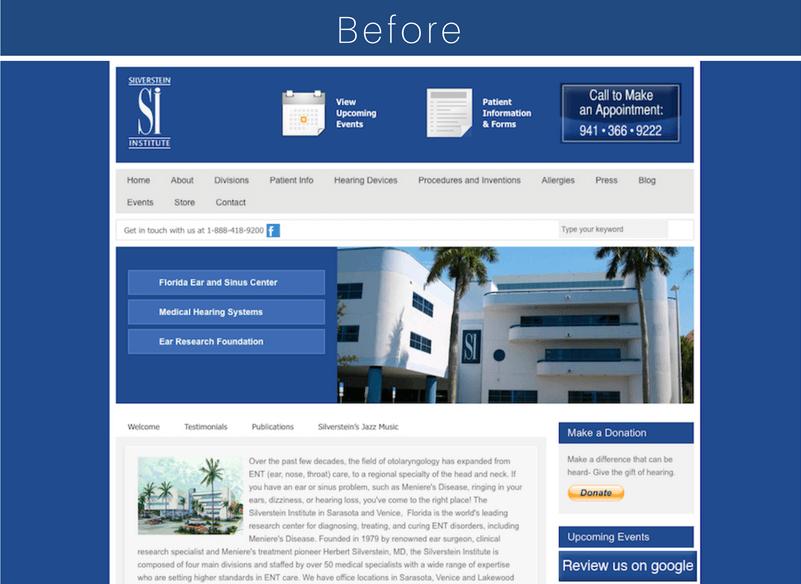 silverstein institute alte webseite