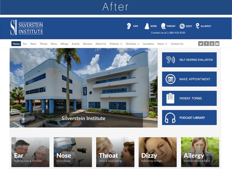 silverstein institute neue webseite