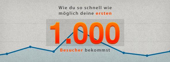 1000 besucher