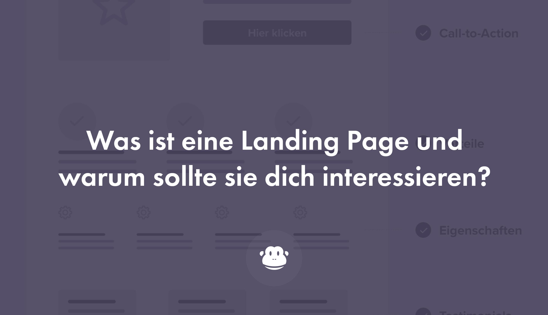 Was ist eine Landing Page und warum ist sie so wichtig? - Chimpify