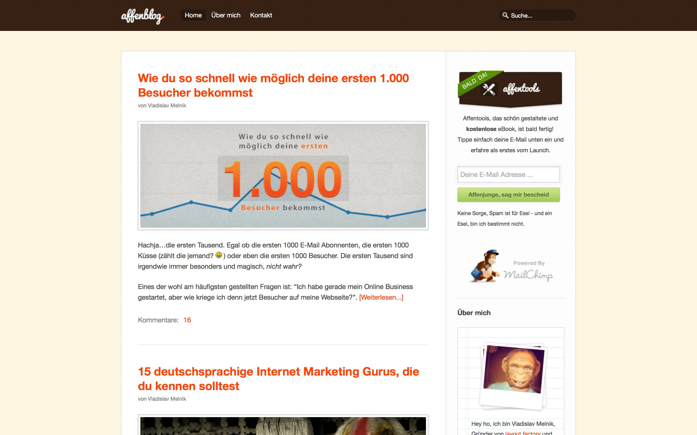 blog design 2012