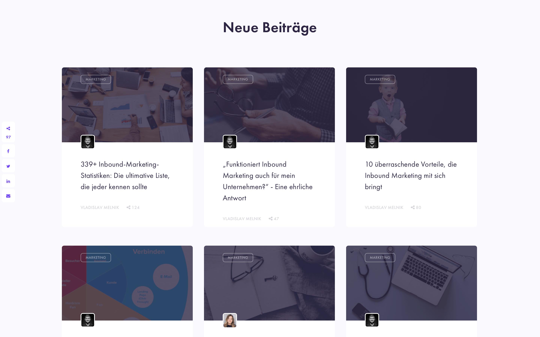 content hub blog