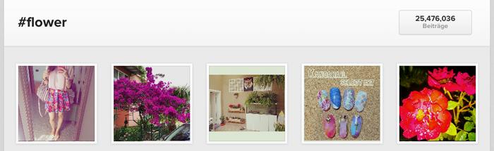 hashtag-flower