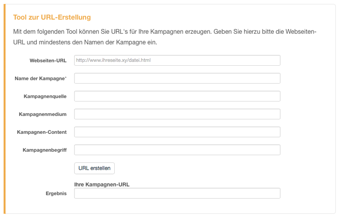 stetic-kampagnen-tracking-url-generator