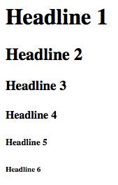 überschriften-html