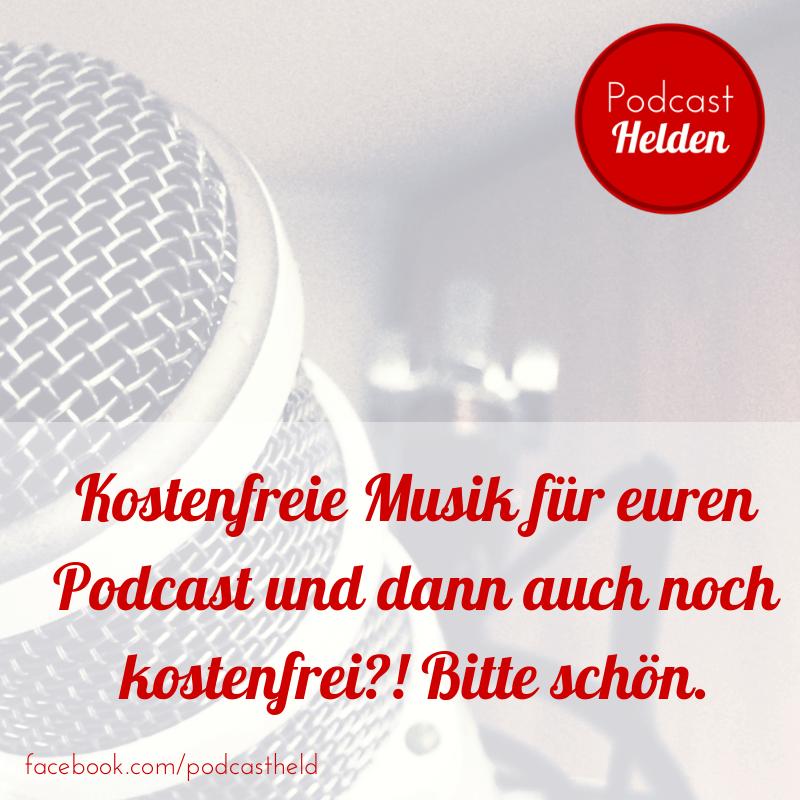 Lizenzfreie Musik für euren Podcast – kostenfrei!
