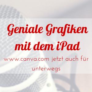 Canva auf dem iPad-2