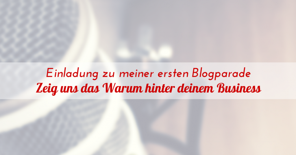 Erste Blogparade