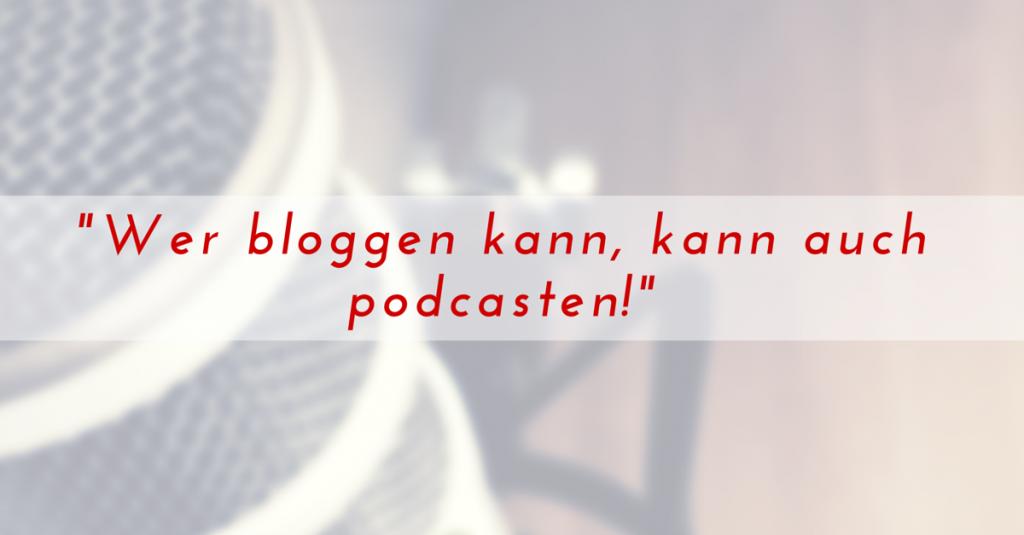 Wer bloggen kann