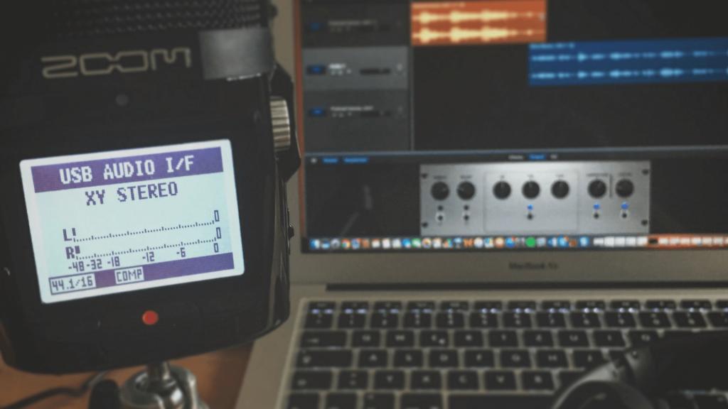 Das Zoom H2n im Podcast – Willkommen zurück