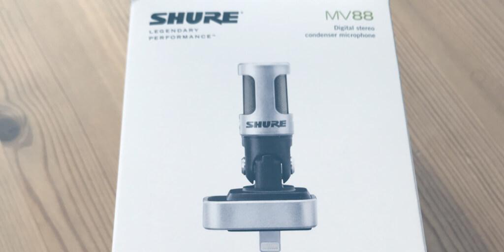 Mobile Podcasting: Das Shure MV88 im Test (Spoiler: geiler Scheiß!)