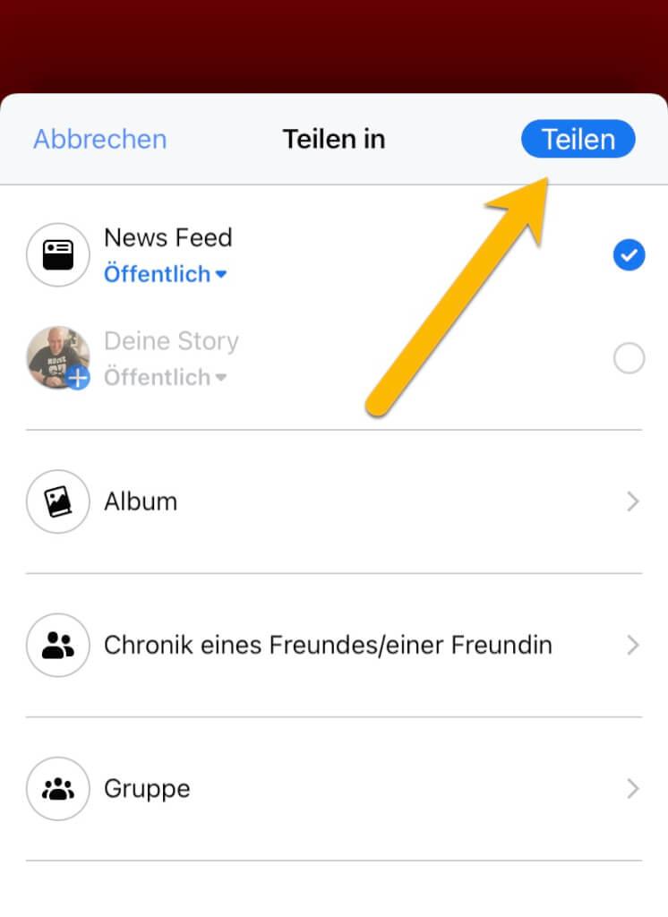 Podcast-Episoden aus Spotify in Facebook mit dem Miniplayer teilen 5