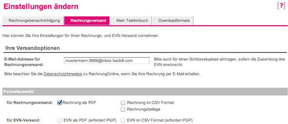 Belegarchivierung per E-Mail