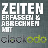 Für Power-Zeiterfasser: Clockodo Zeiterfassung integriert FastBill