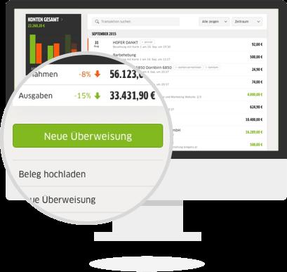 Online Banking in FastBill