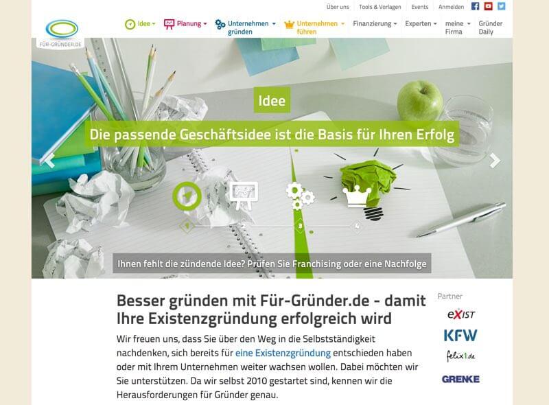Fuer Gründer - Finanzblog und Gründerblog
