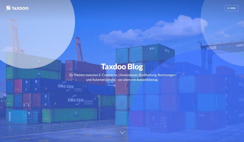 Taxdoo - Finanzblog rund um Steuern und E-Commerce