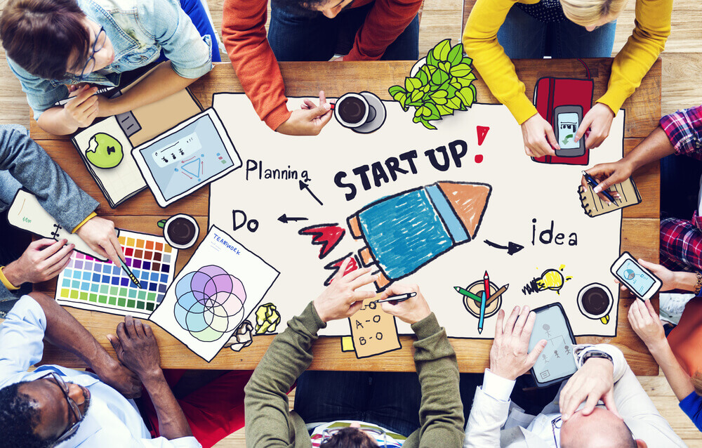 Bild über die Planung eines Startups