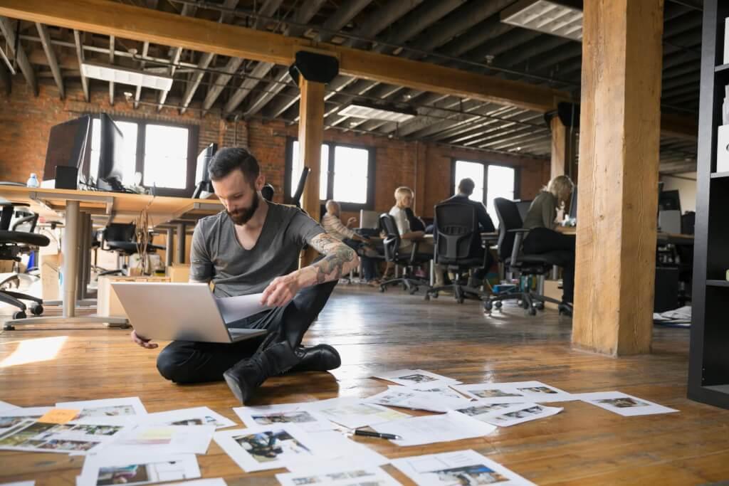 Eine eigene Unternehmensidentität erstellen