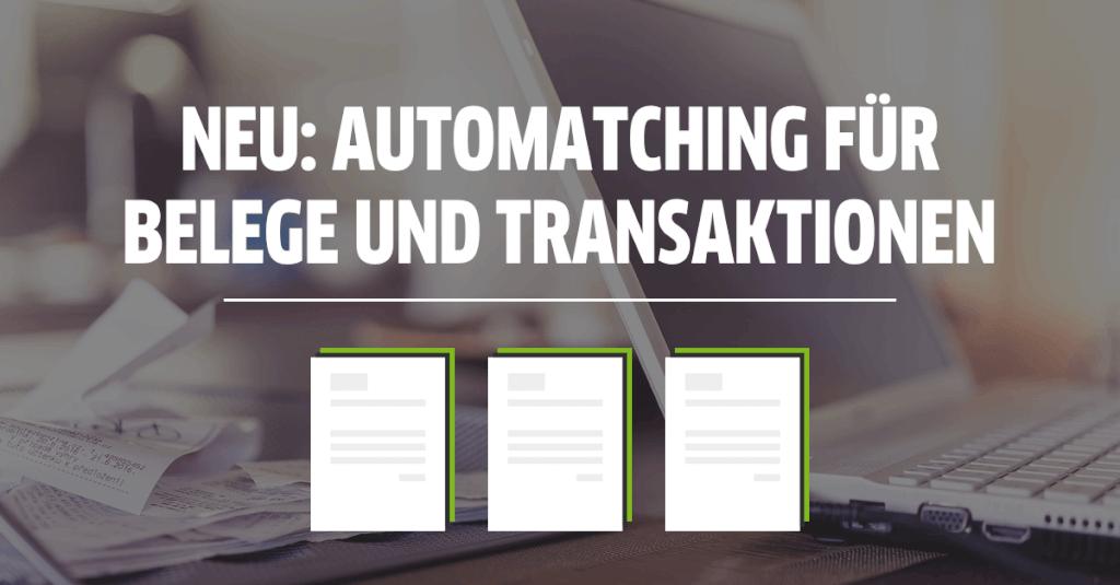 Automatischer Zahlungsabgleich im FastBill Banking