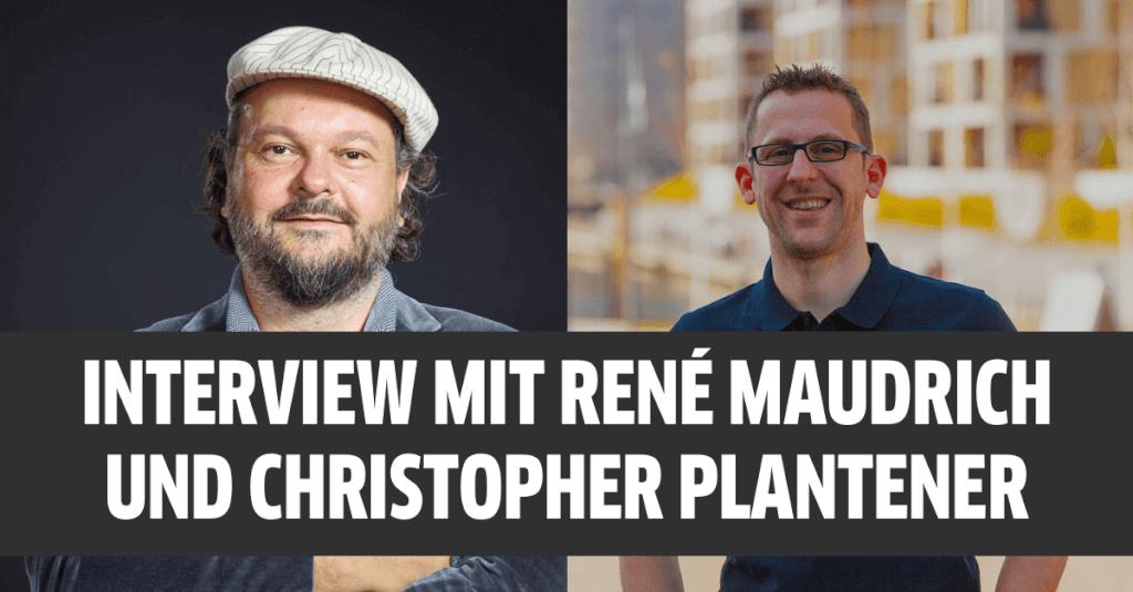 Interview mit René Maudrich (FastBill CEO) und Christopher Plantener (Kontist CEO)