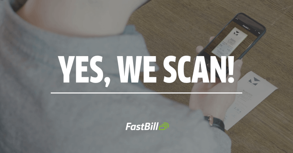 Die FastBill Scan App ist da - YES WE SCAN!