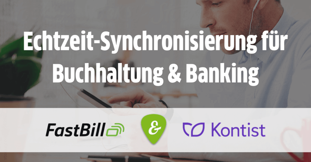 Echtzeit-Synchronisierung für Buchhaltung und Banking