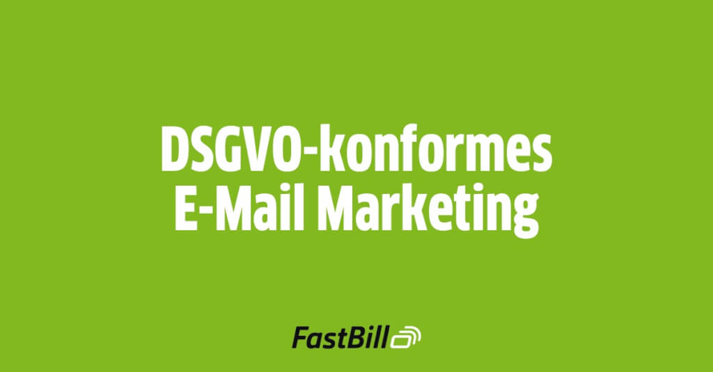 dsgvo email marketing