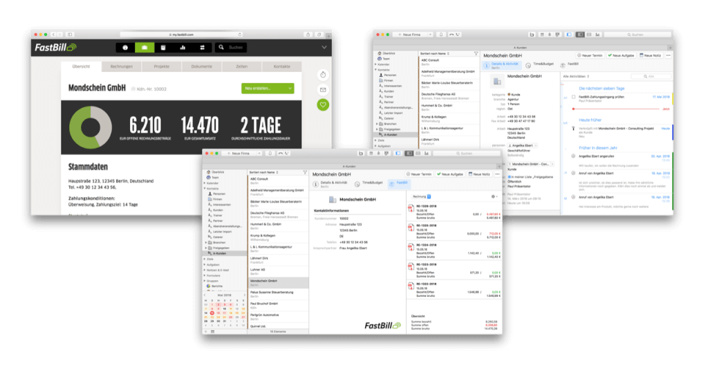 FastBill empfiehlt: iOSXpert