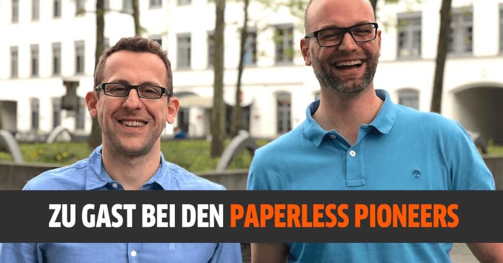 Papierloses Büro - bist auch du ein Pionier?