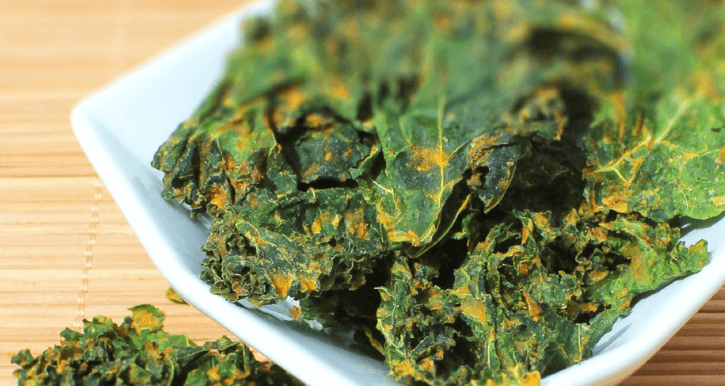 Rohkost Grünkohl Chips
