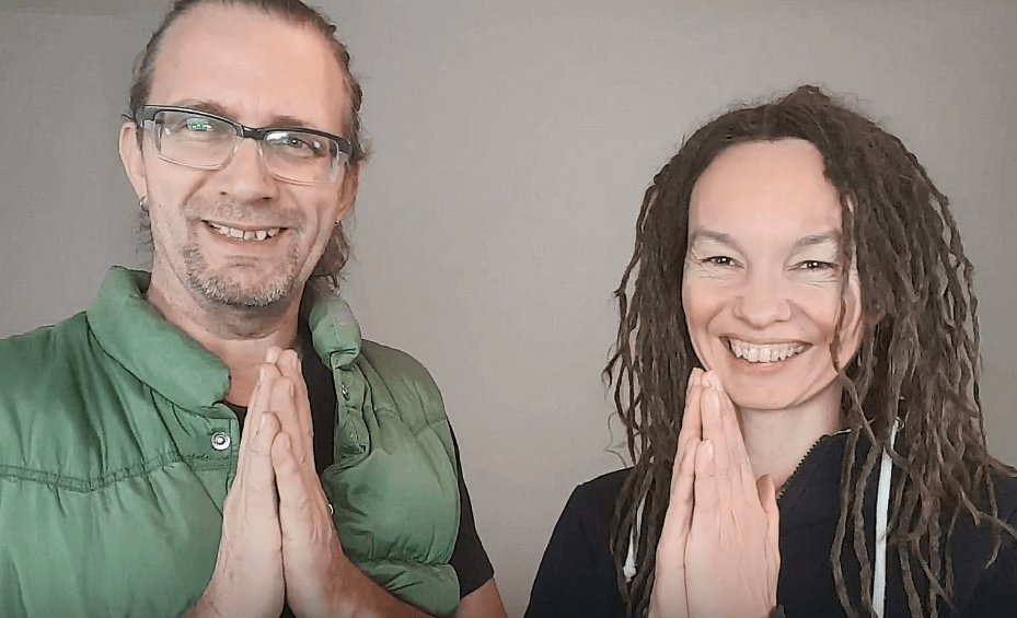 Online Satsang Ludmilla und Roland