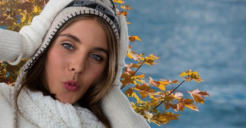 Warum der Herbst Lippenherpes begünstigt