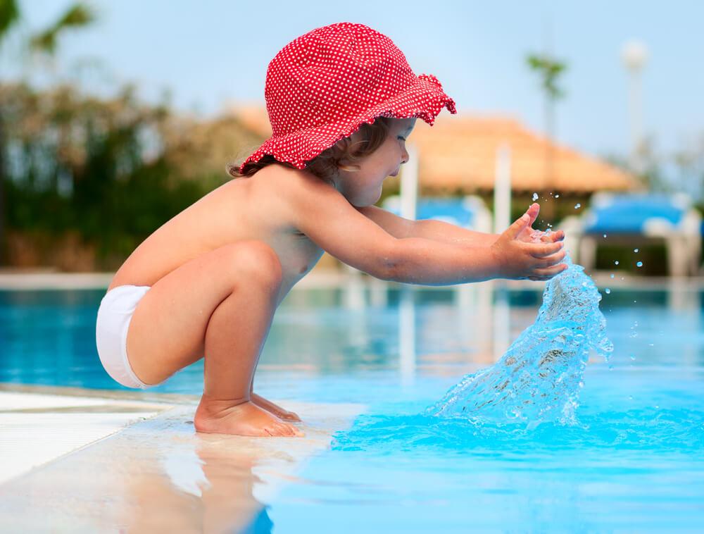 Schaden Salz- und Chlorwasser unserer Haut?