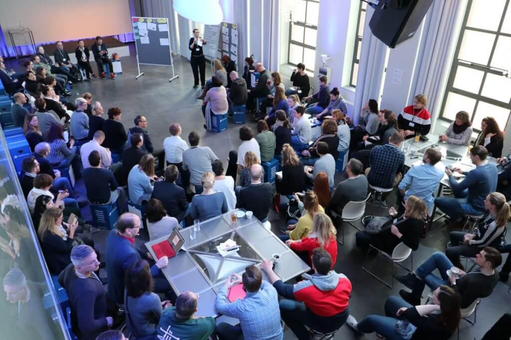 Moderation einer Netzwerk-Veranstaltung (intern)