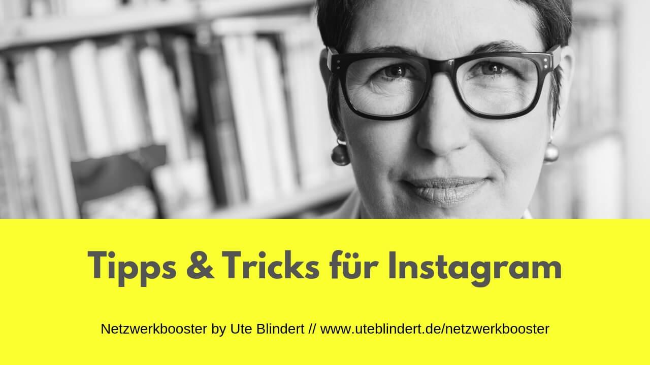 Tipps & Tricks für Instagram