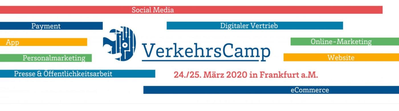 #VerkehrsCamp – Das BarCamp zur digitalen Transformation in Verkehrsunternehmen