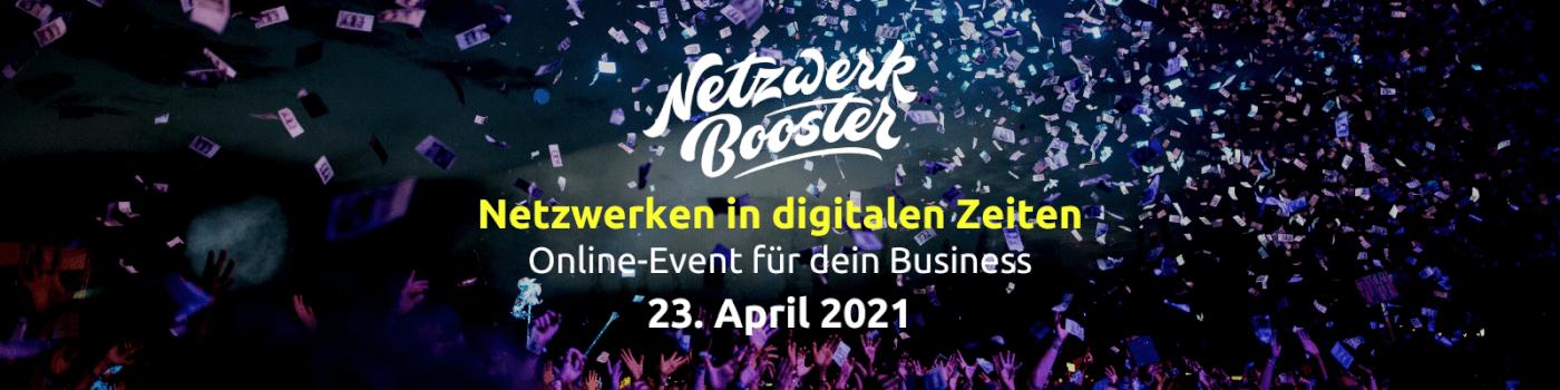 Netzwerkbooster-Event 2021
