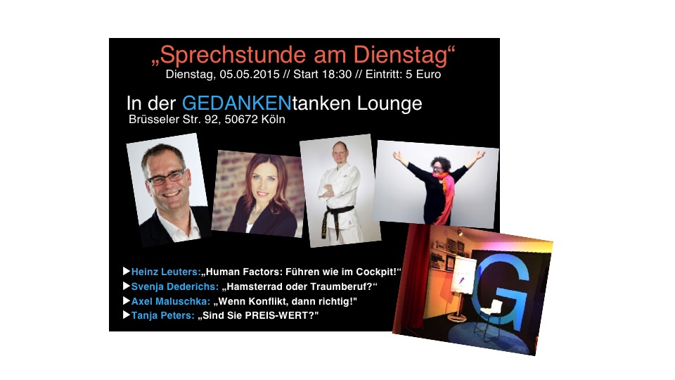 Mein nächster Vortrag in Köln