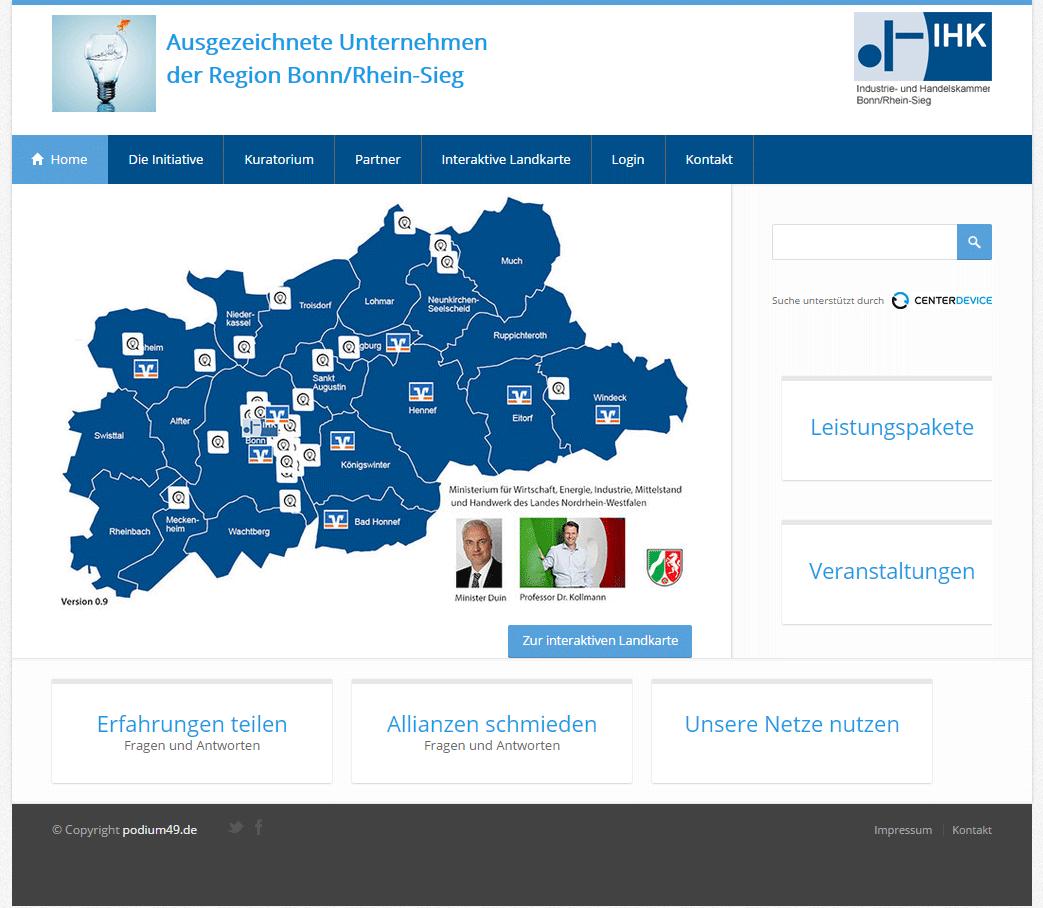 Gründerpodium – Ich wurde ausgezeichnet!