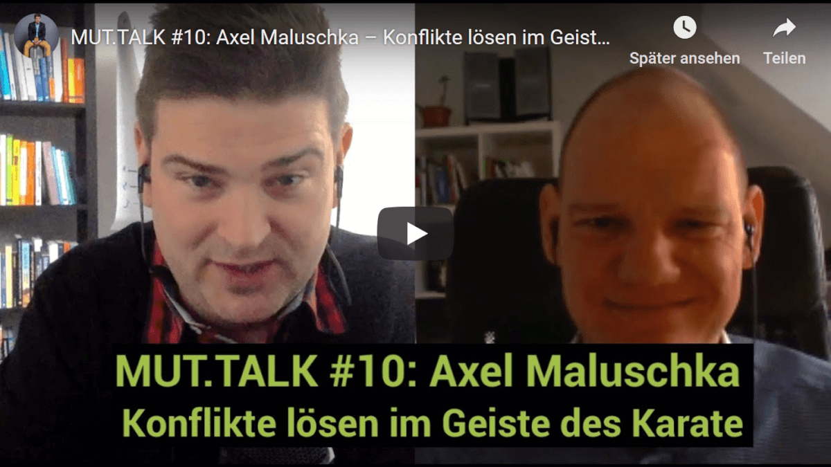 Mut.Talk: Interview bei Lorenz Wenger