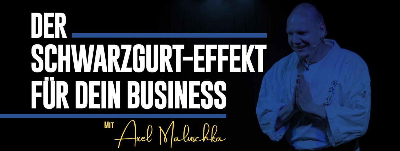 Axel Maluschka Schwarzgurt Effekt P