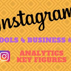 Instagram Tools for Business - Analytics Kennzahlen
